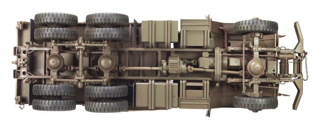 Vietnam War AFV CLUB AF35300 1//35 scale US Army M54A2 5-Yon 6 x 6 Cargo Truck