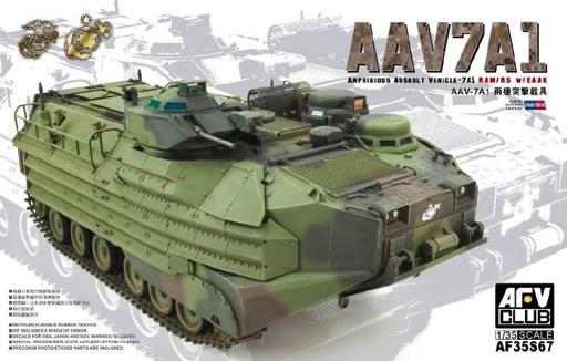 Scalehobbyist.com: Roc Marine AAVP-7A1 RAM/RS w/EAAK by AFV Club