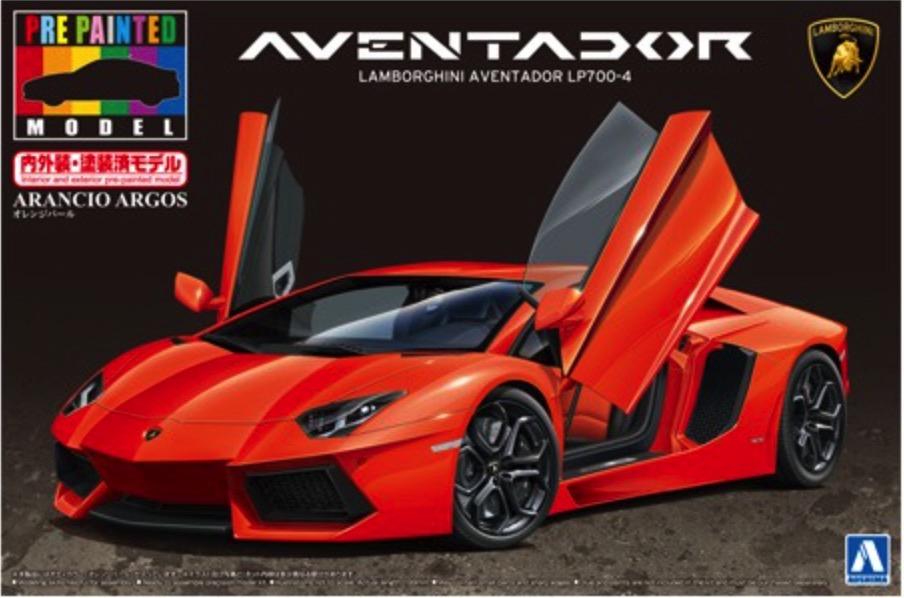 Scalehobbyist Com Lamborghini Aventador Lp700 4 Arancio Argos By