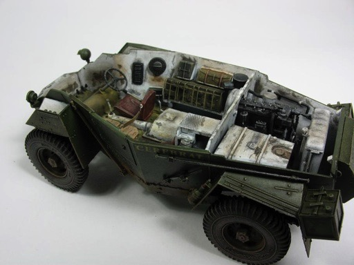 humber mkii scout car by bronco models. Black Bedroom Furniture Sets. Home Design Ideas