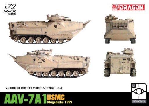 Scalehobbyist.com: AAV-7A1 USMC by Dragon Models