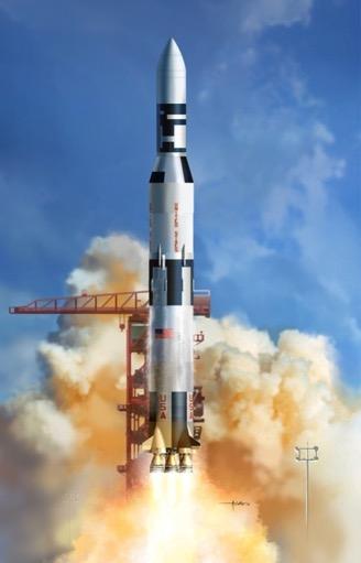 Scalehobbyist.com: Saturn V with Skylab by Dragon Models