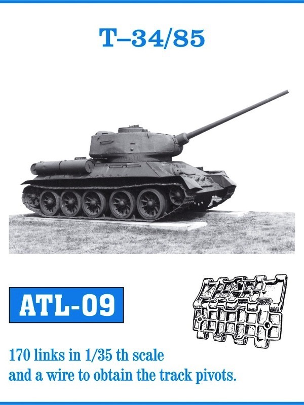 T-34/85 Track Set (170 Links)