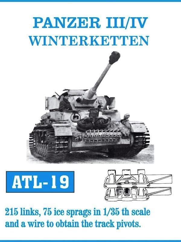scalehobbyist com panzer iii iv winterketten track set 215 links