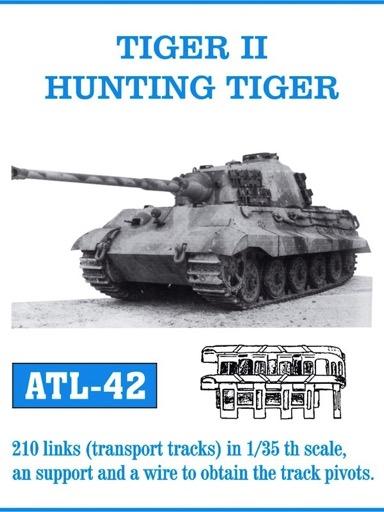 Scalehobbyist Com Tiger Ii Hunting Tiger King Tiger Transport Track Set By Friulmodel Tracks