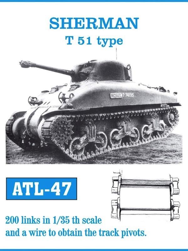 Sherman T51 Track Set (200 Links)