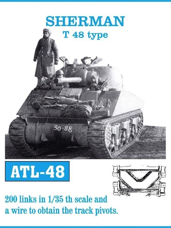 Sherman T48 Track Set (200 Links)