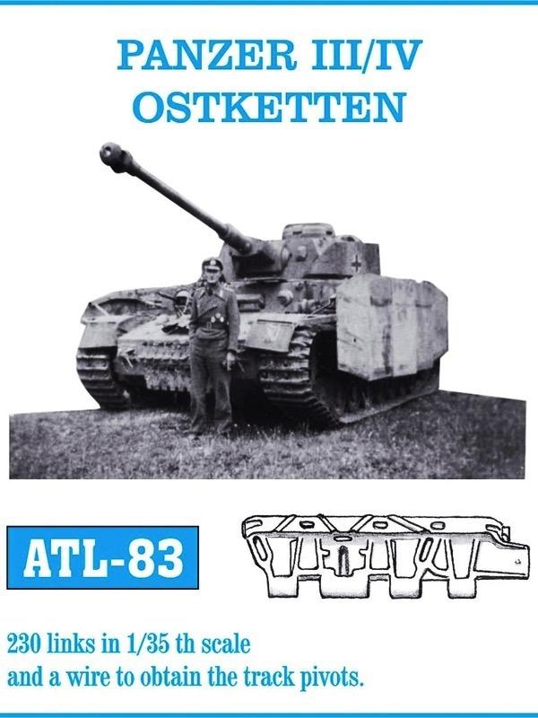 scalehobbyist com panzer iii iv ostketten track set 230 links by