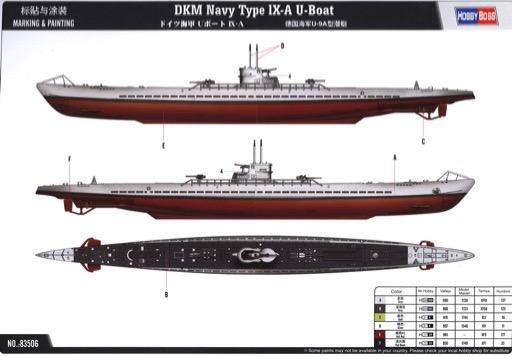 scalehobbyist com dkm navy type ix a u boat by hobbyboss models