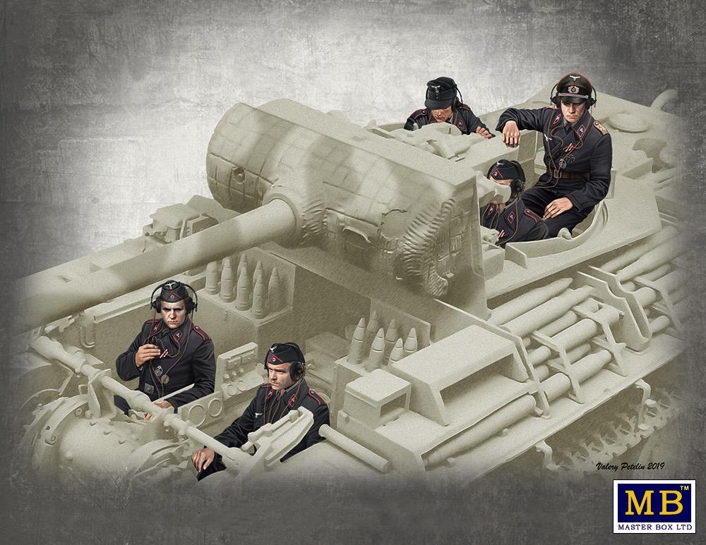 AFV Club Hunting German Tank Crew