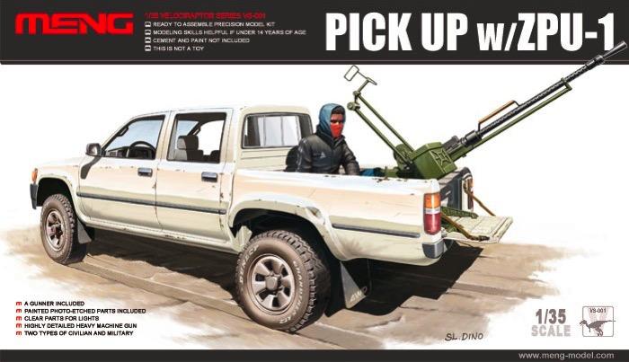 Dual Cab Toyota Hilux Pickup Truck w/ZPU1 Gun