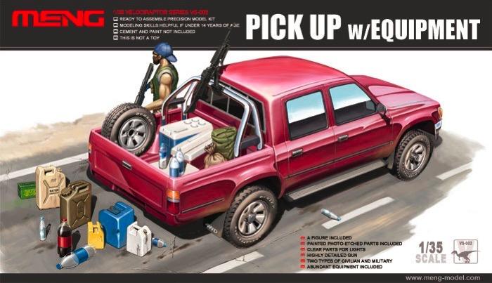 Dual Cab Toyota Hilux Pickup Truck w/M82A1 & Equipment