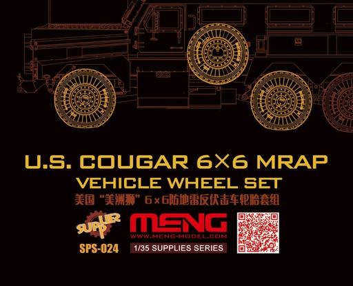 scalehobbyist   cougar 6x6 mrap sagged wheel set by