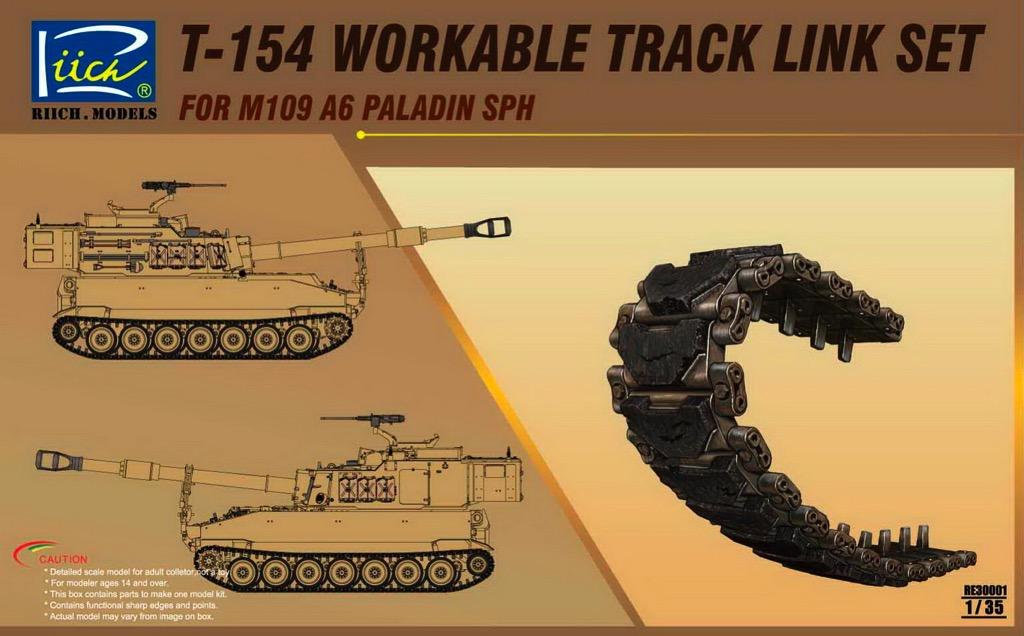 PALADIN T-154 Type tracks M109 M108