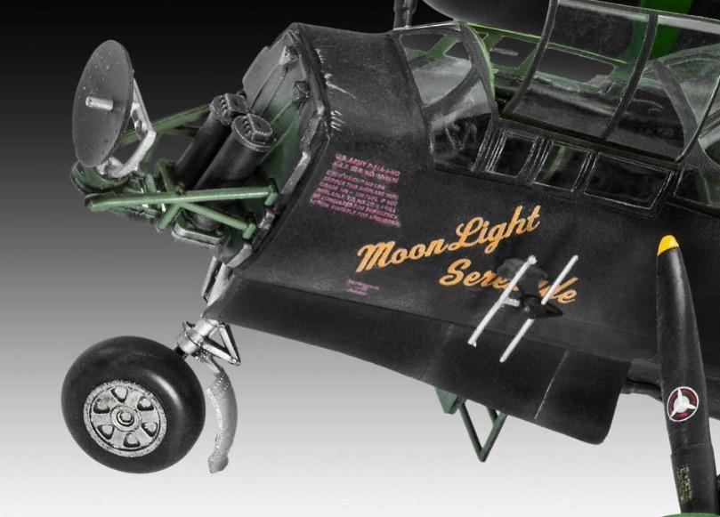 Revell 04887 Northrop P 61A//B Black Widow  1:48 Bausatz