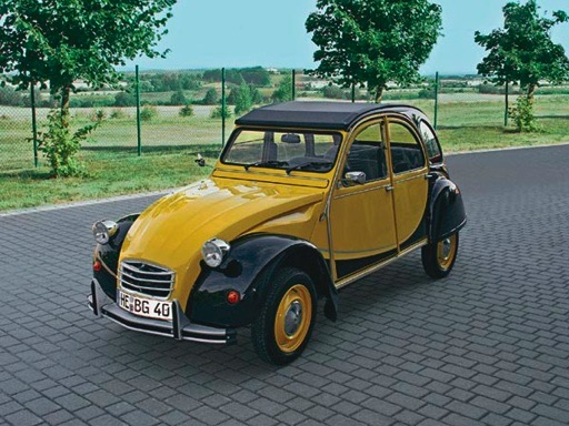 2cv charleston decals