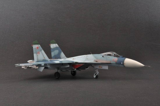 S6F Trumpeter Modellino Aereo Russian SU-27 Flanker B Model Kit