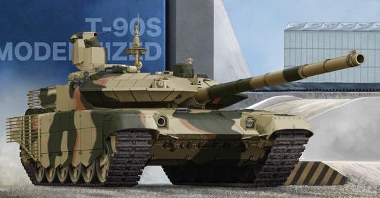 012f3d81560e Scalehobbyist.com  Russian T-90S Modernized Main Battle Tank by Trumpeter  Models