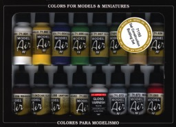 Scalehobbyist com: Military Colors Model Color Paint Set by