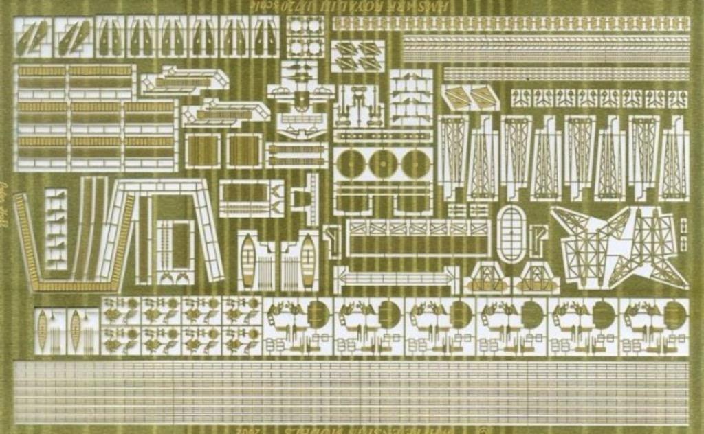 Scalehobbyist Com Wwii Hms Ark Royal Detail Set By White