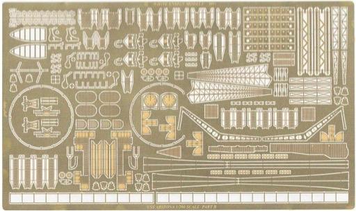 WHITE ENSIGN MODELS 1//200 USS Arizona Detail Set for TSM WEM2002