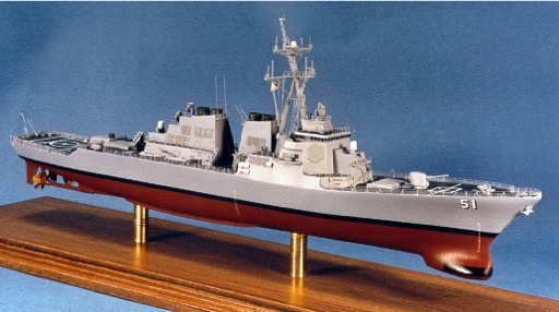 Scalehobbyist Com Uss Arleigh Burke Class Destroyer By