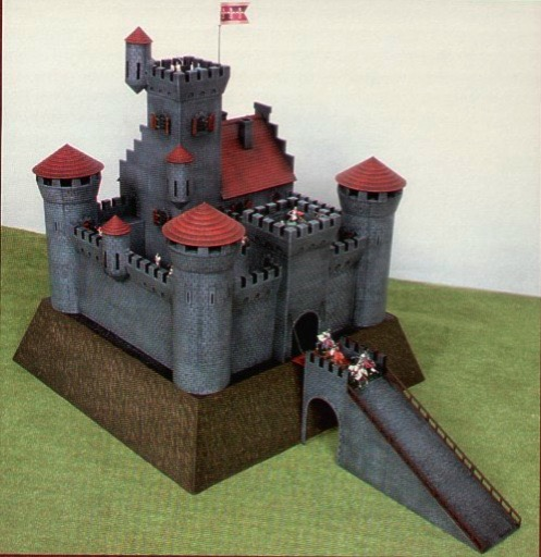 How To Build A Model Castle For School Project
